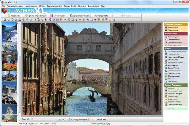 programma per modificare foto in italiano